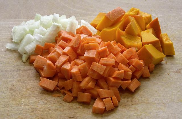 Витаминный салат с тыквой