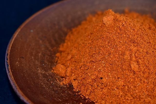 Молотый сушеный жгучий перец