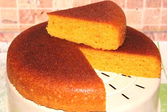 Вкусный кекс с морковью