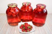 Компоты из ягод на зиму
