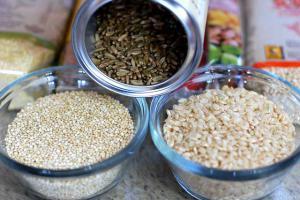 Крупы, злаки, семена