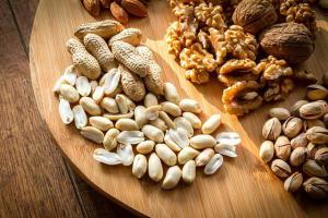 Бобовые, орехи