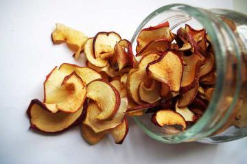 вяленые яблоки в домашних условиях в духовке