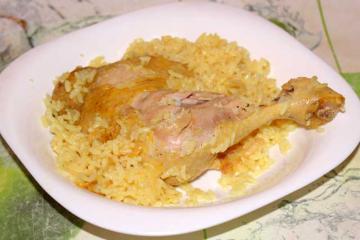 Гарнир к курице