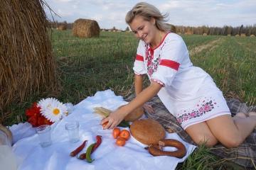 Питание сельских жителей России