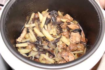 Как готовить грибы в мультиварке