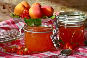 Персики на зиму