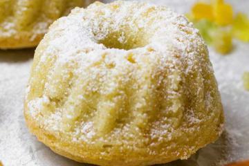 Вкусный лимонный кекс