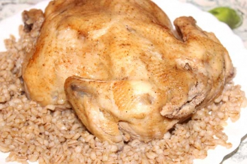 Курица жареная в мультиварке