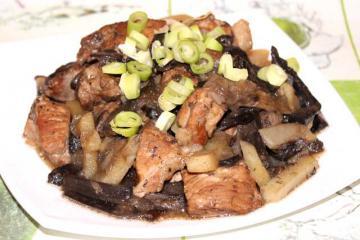 Подберезовики с мясом