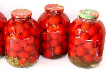 Острые консервированные помидоры