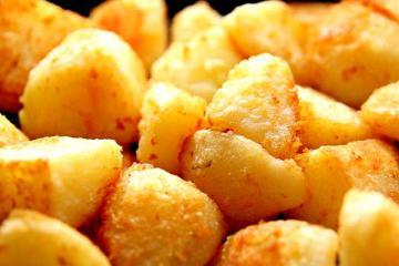 Постная картошка