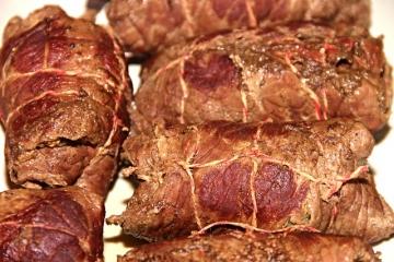 Рулеты из говядины