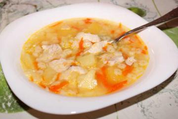 Полезный и вкусный куриный суп