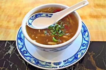 Вкусный суп из маслят