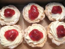 Порционные творожные чизкейки с ягодами
