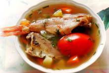 Вкусный рыбный суп