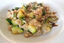 Кабаски с рисом