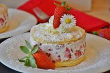 Десерт из клубники
