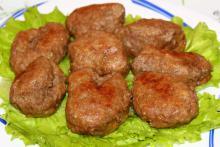 Жареные котлеты из говядины