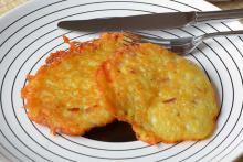 Вкусные капустные оладьи