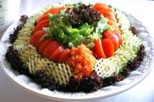 Овощи на праздничный стол