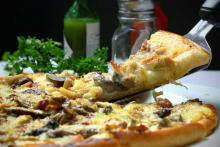 Постная вегетарианская пицца