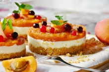 Вкусный творожный торт