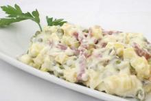 Классический зимний салат