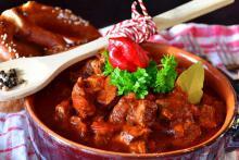 Гуляш - блюдо словацкой кухни