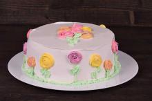 Красивый и вкусный торт из печенья