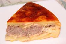 Вкусная запеканка с мясом